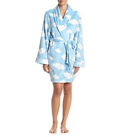 PJ Couture® Cloud Printed Robe