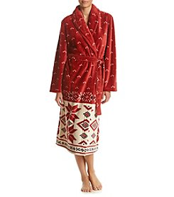 Jasmine Rose® Snowflake Robe