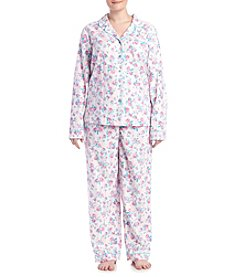 Intimate Essentials® Plus Size Floral Pajama Set