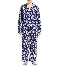 Intimate Essentials® Plus Size Printed Pajama Set