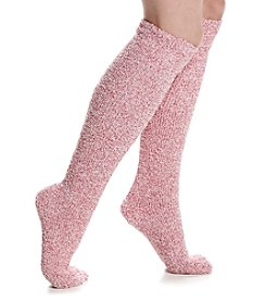 KN Karen Neuburger Knee Hi Cuffed Slipper Socks