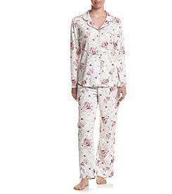 KN Karen Neuburger Girlfriend Frosty Floral Pajama Set