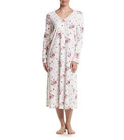 KN Karen Neuburger Frosty Floral Sleepshirt