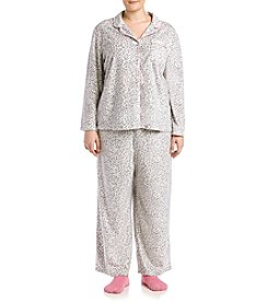 KN Karen Neuburger Plus Size Socks and Pajama Set
