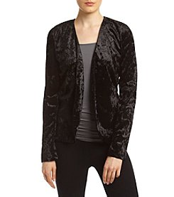 Sequin Hearts® Open Velvet Jacket