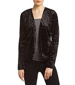 Sequin Hearts® Open Velvet Jacket
