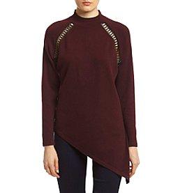 XOXO® Asymmetrical Hem Sweater