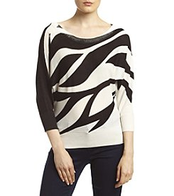 XOXO® Zebra Dolman Sweater