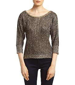 XOXO® Sequin Pullover Sweater