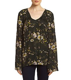 Eyeshadow® Floral Peasant Top