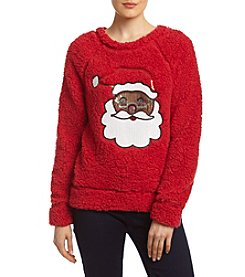 Eyeshadow® Santa Pullover Sweatshirt