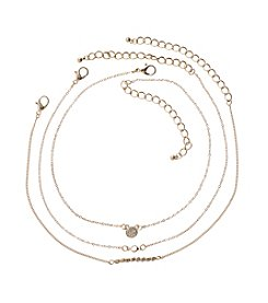 Relativity® Three Piece Stone Choker Set