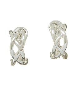 Napier® Small Hoop Clip Earrings