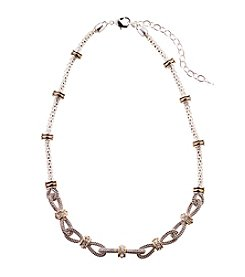 Napier® Textured Collar Necklace