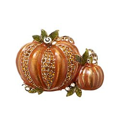 Napier® Boxed Double Pumpkin Pin