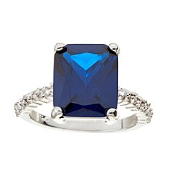 Glamour Rings Prong Set Spinel Center Stone Ring