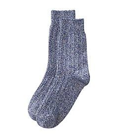 Cuddl Duds® Twist Crew Socks