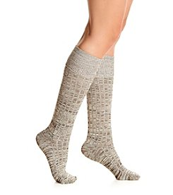 Cuddl Duds® Space Dyed Turncuff Knee High Socks