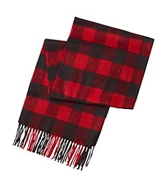 V. Fraas Buffalo Check Scarf