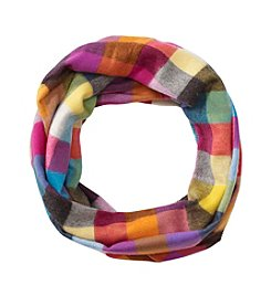 V. Fraas Mini Colorblock Loop Scarf