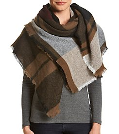 Collection 18 Savannah Plaid Blanket Wrap