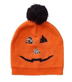 Collection 18 Pumpkin Face Beanie