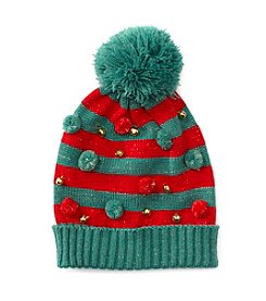 Collection 18 Jingle Pom Beanie