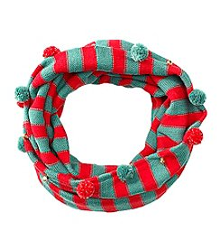 Collection 18 Jingle Pom Loop Scarf