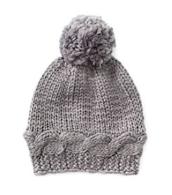 Collection 18 Knit Hat With Shine
