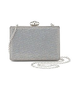 La Regale® Metal Screen Minaudiere Clutch