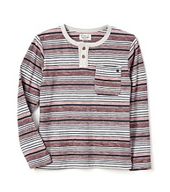 Lucky Brand® Boys' 4-20 Long Sleeve Striped Henley
