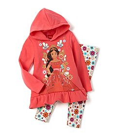 Disney® Girls' 4-6X 2-Piece Princess Elena Hoodie and Leggings Set