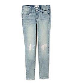 Jessica Simpson Girls' 7-16 High Rise Skinny Jeans