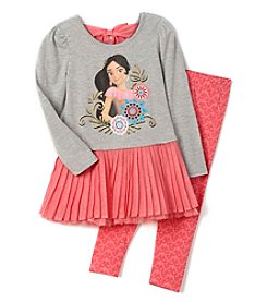 Disney® Girls' 2T-6X 2-Piece Princess Elena Tunic and Leggings Set