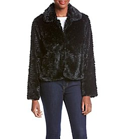 Fever™ Tiered Faux Fur Jacket