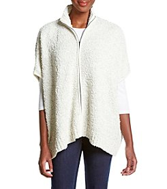 Jones New York® Popcorn Twist Poncho