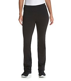 Exertek® Petites' Slim Bootcut Brushed Pants