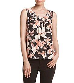 Kasper® Floral Print Tank