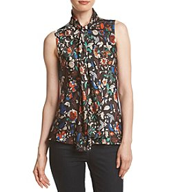 Nine West® Multi Print Tie Neck Cami