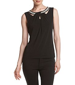 Nine West® Criss Cross Neck Top