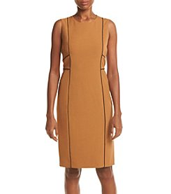 Kasper® Jewel Neck Dress