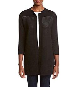 Kasper® Ottoman Stich Sweater