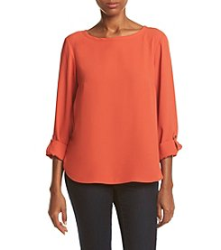 Nine West® Long Sleeve Blouse
