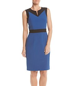 Nine West® Color Contrast Sheath Dress