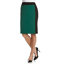 Nine West® Color Block Pencil Skirt