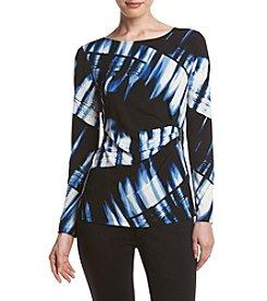 Calvin Klein Brushstroke Print Top