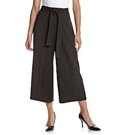 Anne Klein® Culotte Pants With Sash