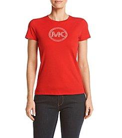 MICHAEL Michael Kors® Studded Logo Tee