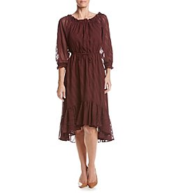 Nanette Nanette Lepore Raglan Sleeve High-Low Dress
