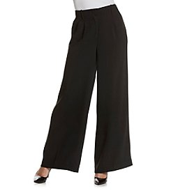 Nanette Nanette Lepore Stretch Crepe Wide Leg Pants
